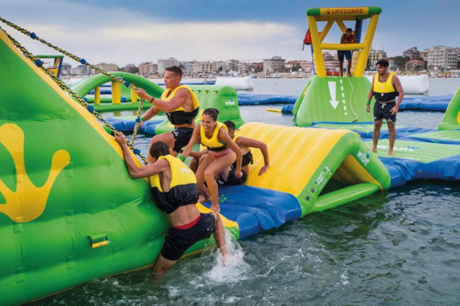 Un weekend ricco di appuntamenti a BoaBay, l'aquapark galleggiante