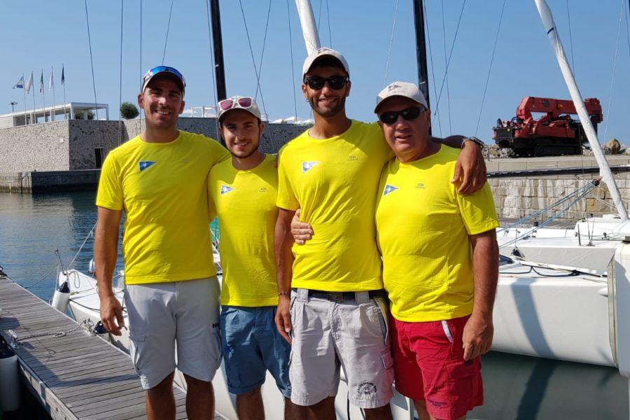 J70 dello Yacht Club di Rimini qualificato per le finali della Liv