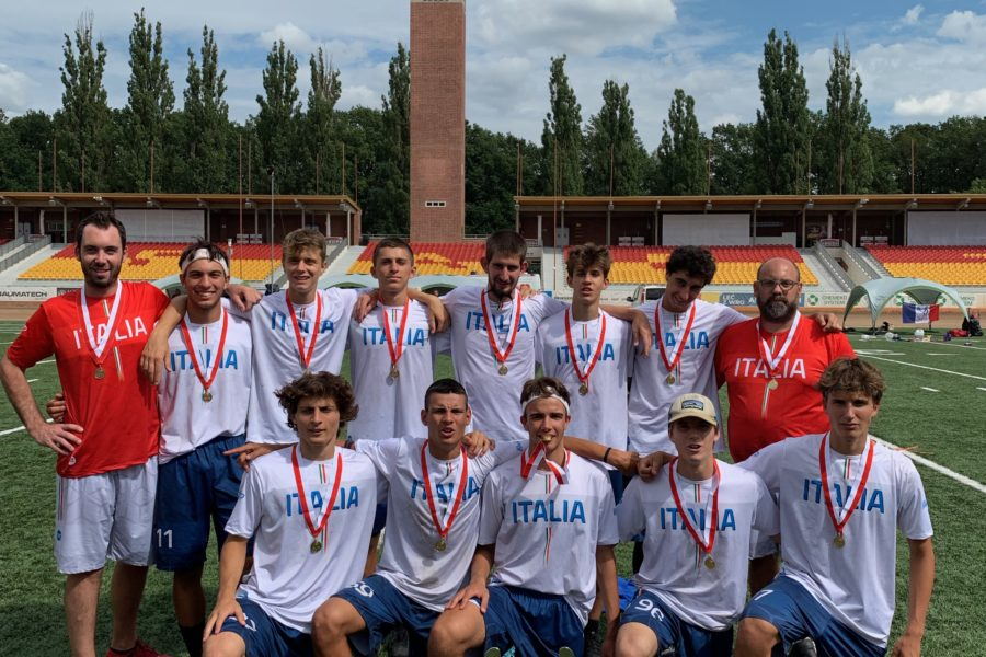 Europei Juniores Ultimate Frisbee: oro per la squadra U20 con undici riminesi in campo e due coach riminesi