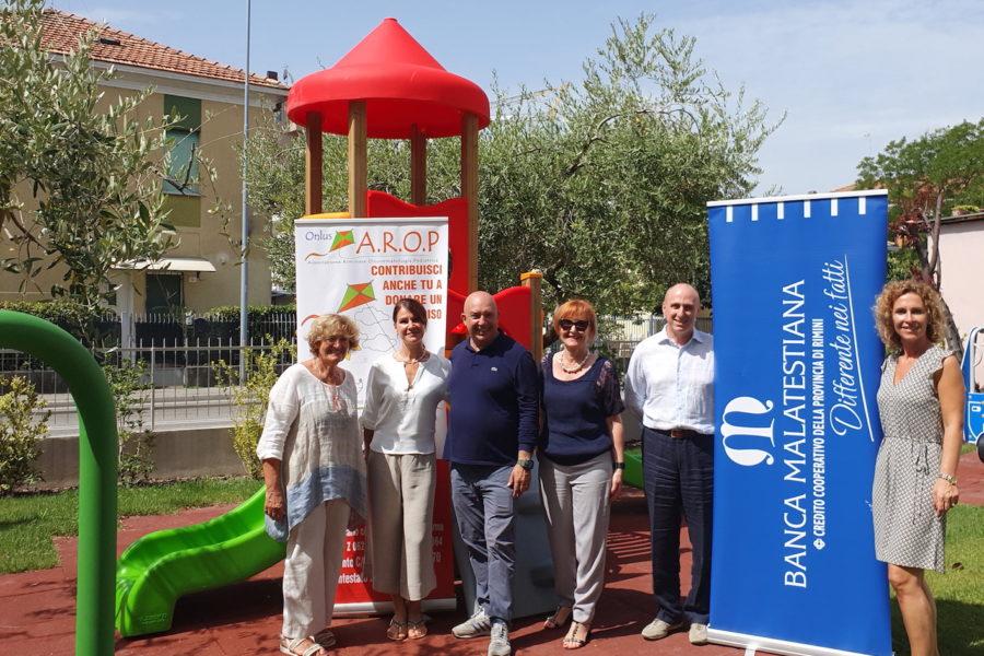 CASA A.R.O.P – Oggi la visita di una delegazione della Banca Malatestiana