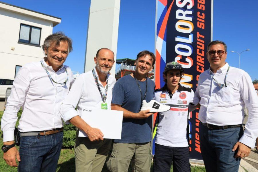 Le nuove sneaker MWC regalate a Niccolò Antonelli – Una linea nata dalla collaborazione tra MWC e Pollini