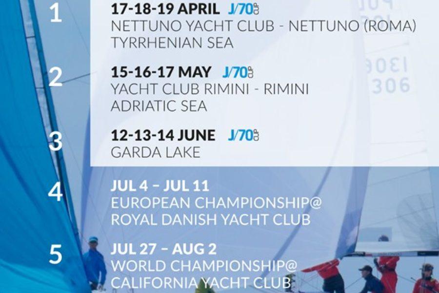 Yacht Club Rimini| Farà tappa a Rimini il campionato J70 e questo fine settimane corso sulle due J70 del club riminese