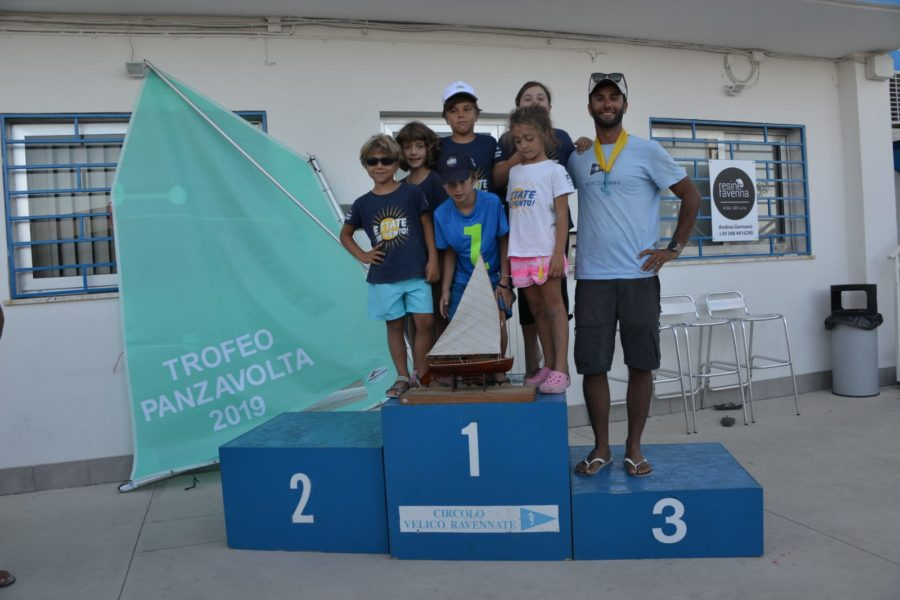 Yacht Club Rimini vince il Trofeo Panzavolta di Ravenna