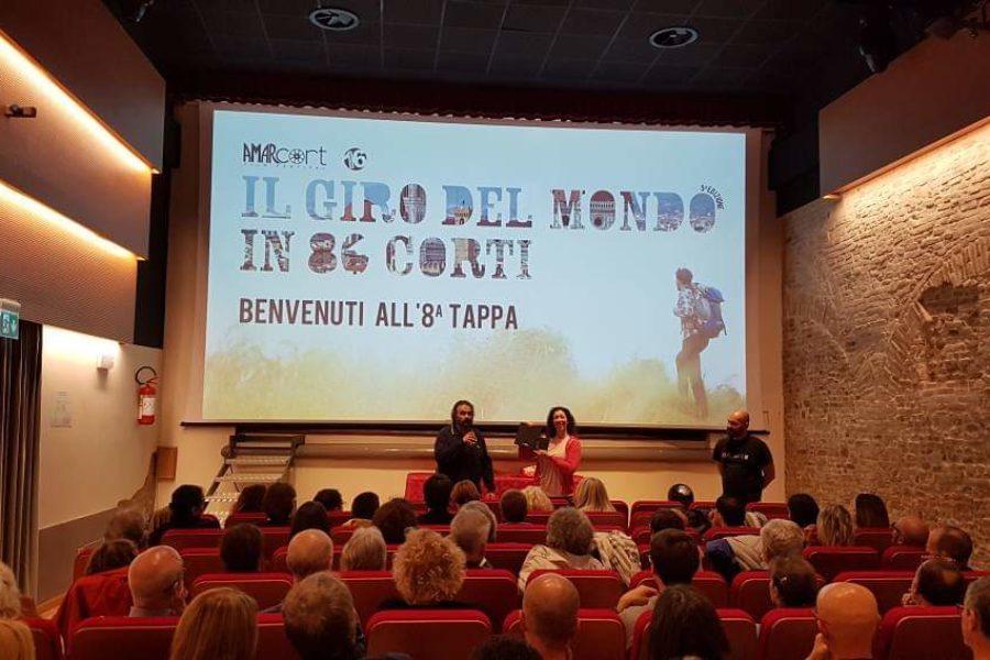 Amarcort Film Festival | Si è svolta ieri al Cinema Tiberio l'ottava tappa del giro del mondo in 80 corti