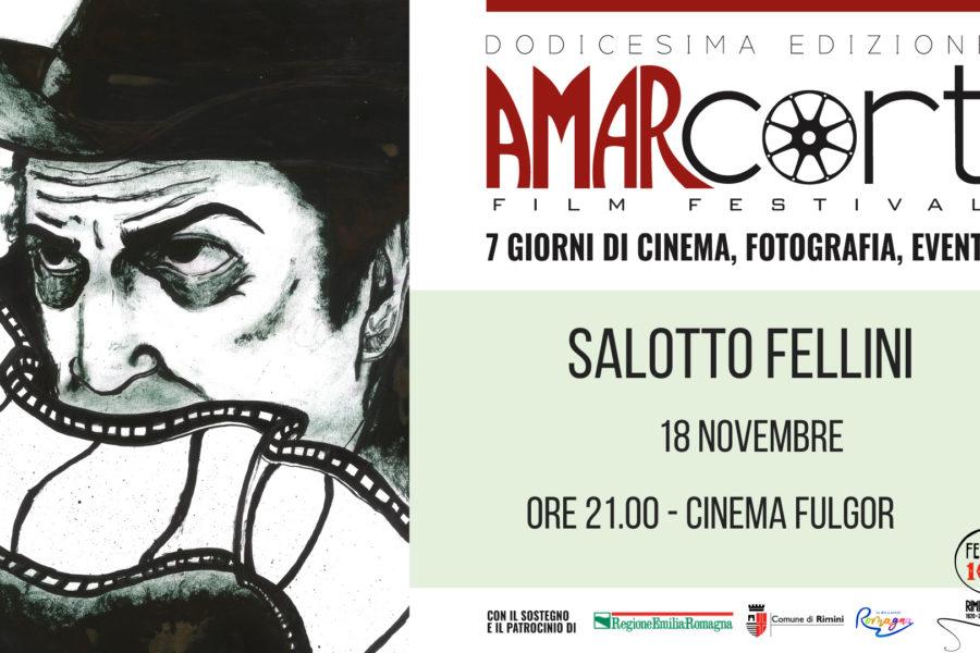 """AMARCORT FILM FESTIVAL, LUNEDI' 18 NOVEMBRE al CINEMA FULGOR IL PREMIO """"UN FELLINIANO NEL MONDO"""