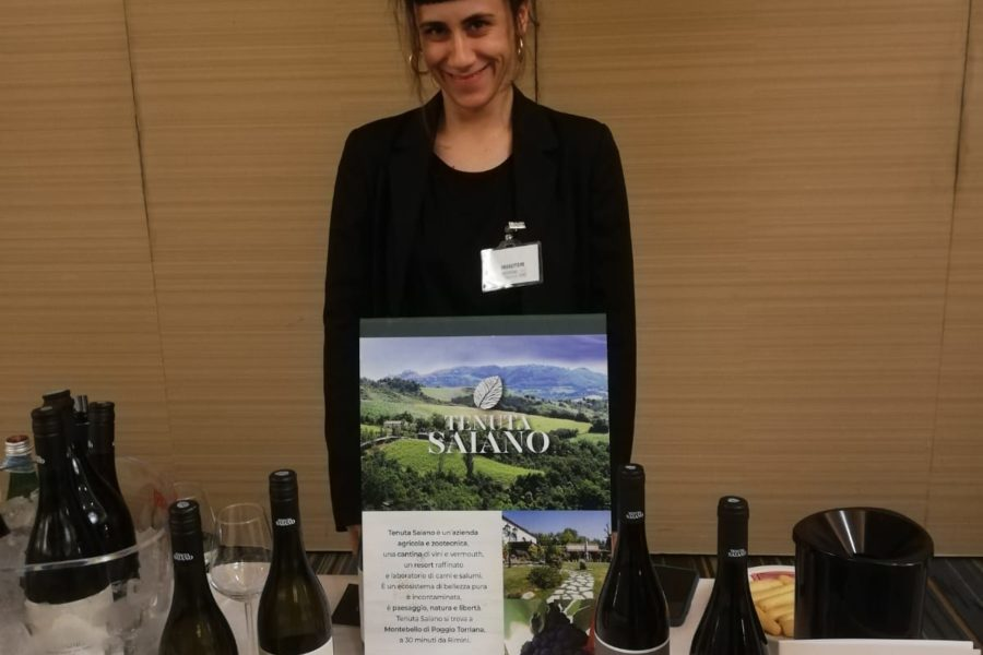 I vini di Tenuta Saiano in Tour da Cesena in Bolla all'evento del Gambero Rosso