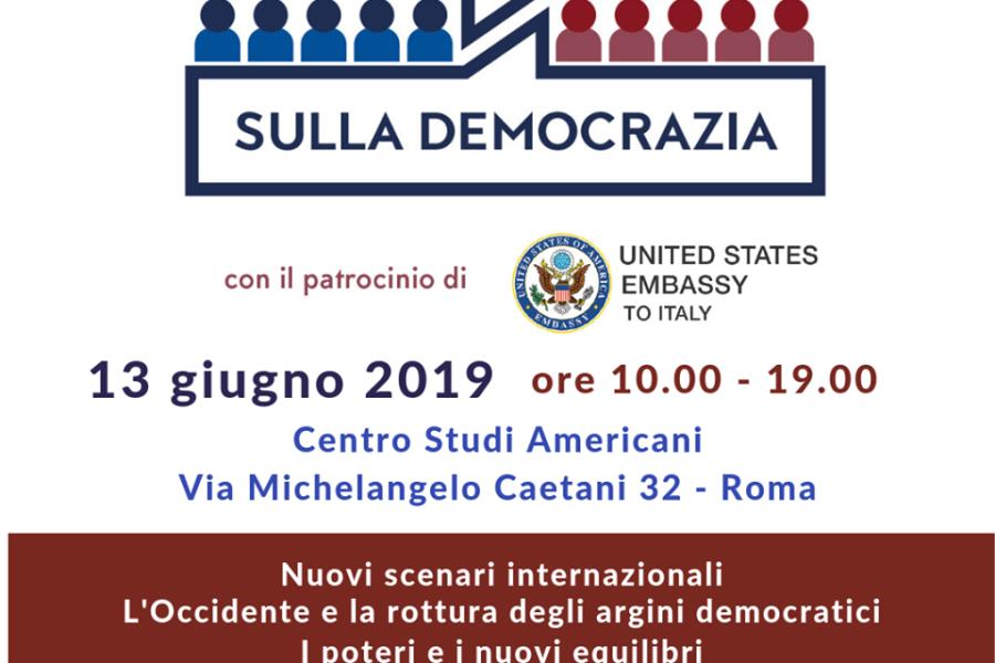 Convegno Colloqui sulla Democrazia – Roma