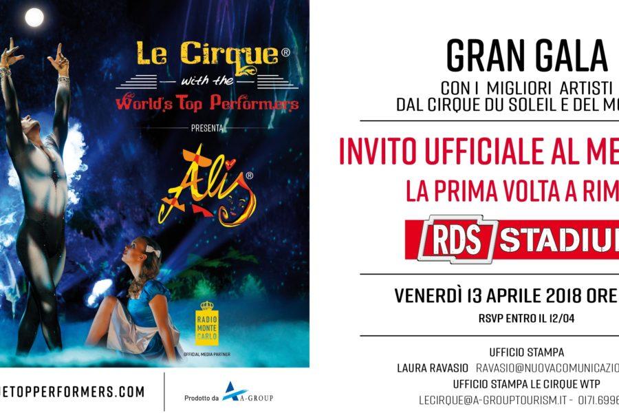 Alis – Cirque du soleil – Media Day – Rimini