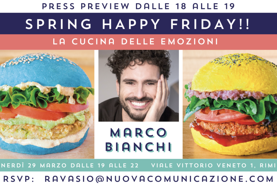 MARCO BIANCHI – SPECIAL GUEST alla PRESS PREVIEW di FLOWERBURGER