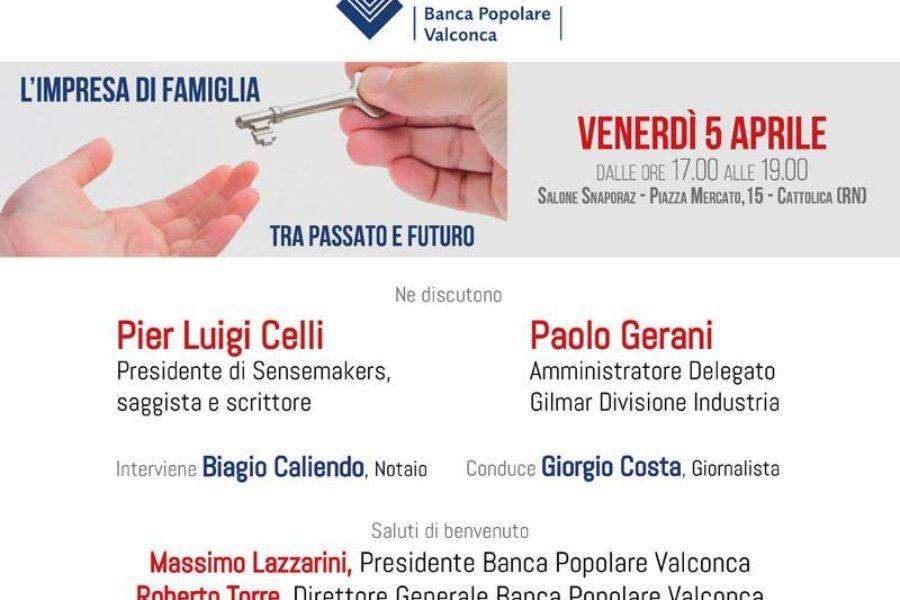 Convegno promosso da Banca Popolare Valconca – Passaggi generazionali