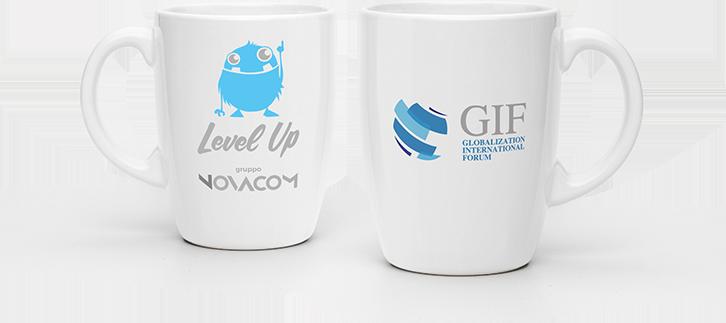 GIF ha scelto Level Up - Gruppo Novacom per la creazione del logo e immagine coordinata