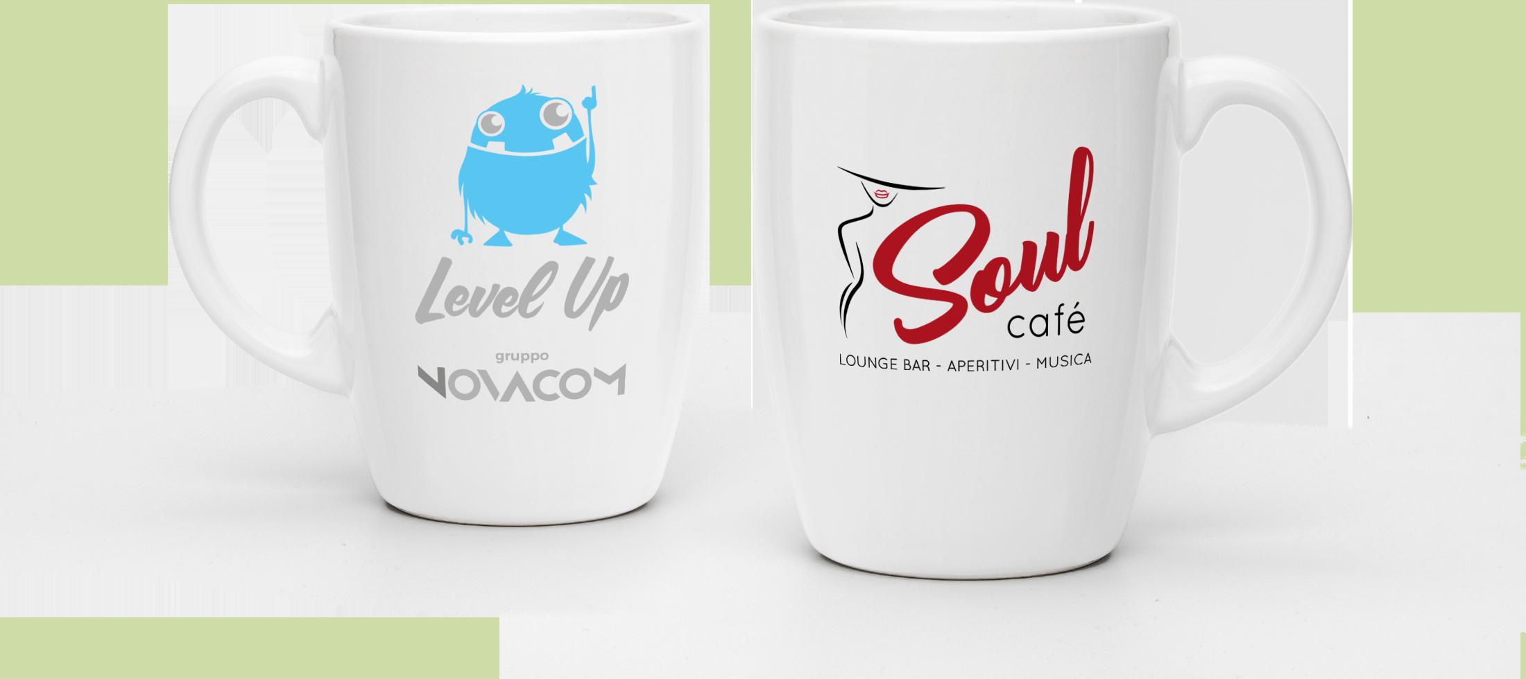 Soul Cafe ha scelto Level Up per la creazione del suo logo e la sua immagine coordinata