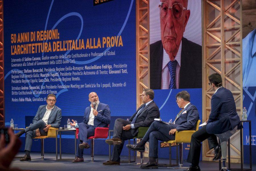 Al Meeting Rimini oggi importante convegno sui 50 anni delle Regioni organizzato dal Gruppo Maggioli