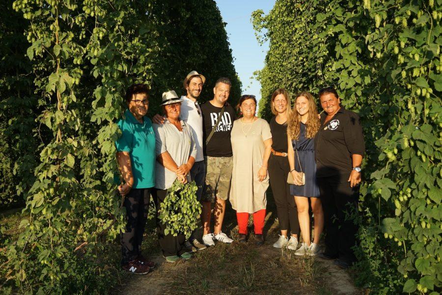 Birra Amarcord | Visita al luppoleto alla scoperta del luppolo coltivato in Romagna