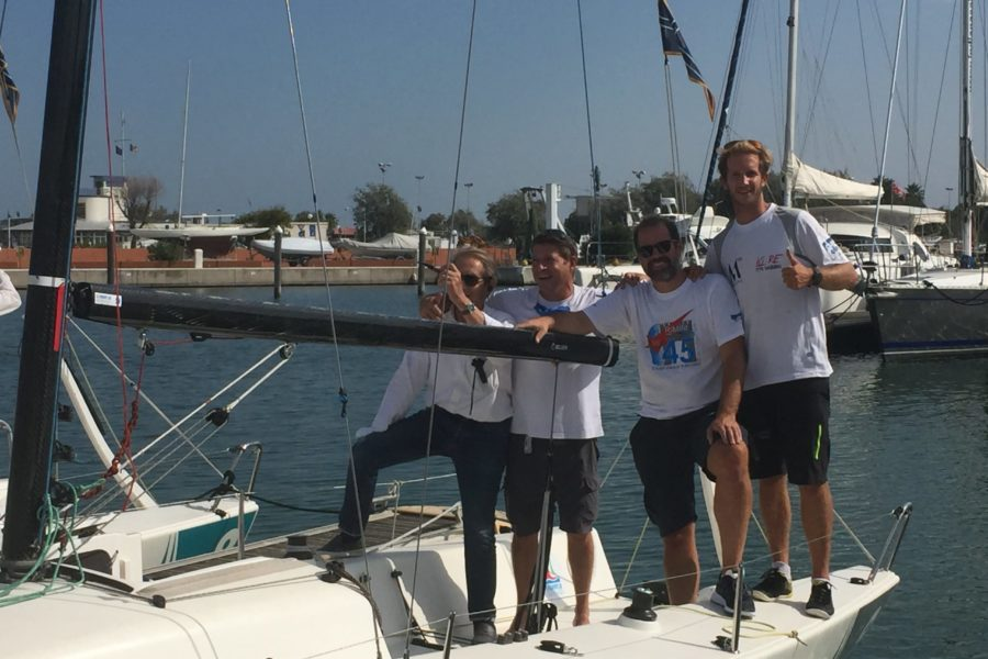 YACHT CLUB RIMINI, SUCCESSO PER LA REGATA CON I J70
