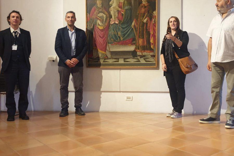 Sarebbe attribuibile a Sandro Botticelli l'opera la Pala di San Leo