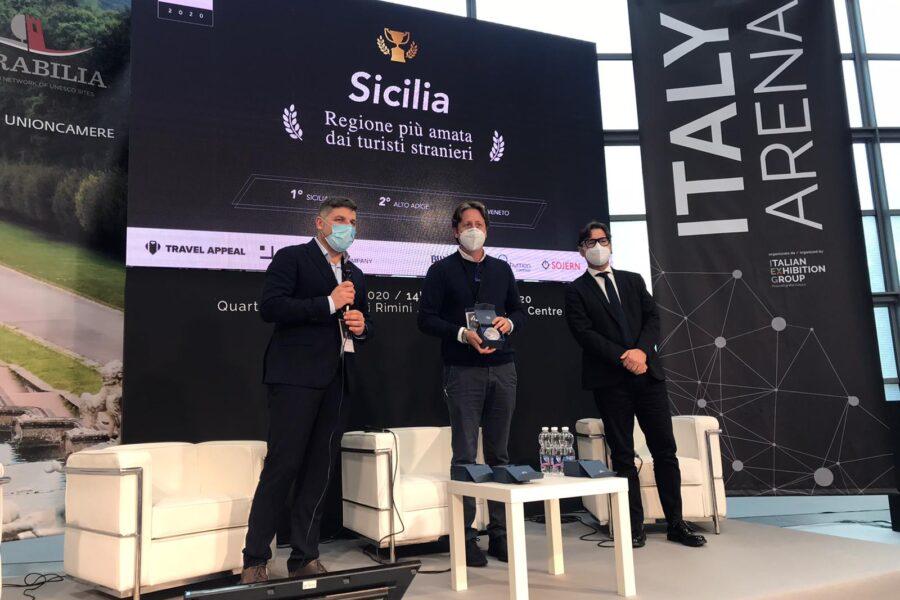 Gruppo Maggioli – Premiazione alla Sicilia come Regione più amata dagli stranieri