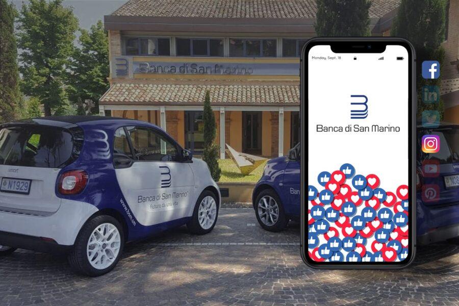 Banca di San Marino – Comunicazione Social