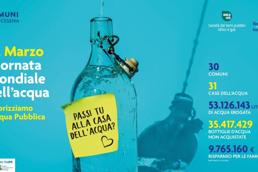 Unica Reti – 22 Marzo 2021 si celebra la Giornata Mondiale dell'Acqua