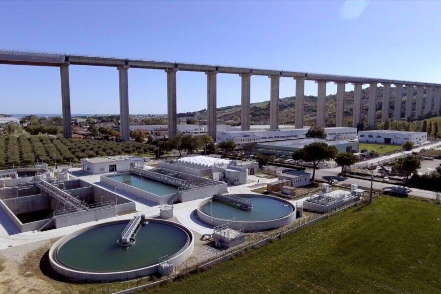 Plan Green di Riccione investe 4,5milioni per 15 anni nella riqualificazione energetica dei depuratori di Ruzzo Reti nella provincia di Teramo