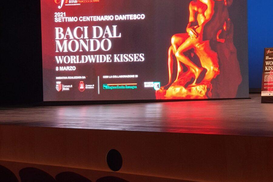 8 marzo: Baci dal Mondo al Teatro Galli di Rimini – Al via oggi Francesca2021, tributo a Dante e Francesca da Rimini