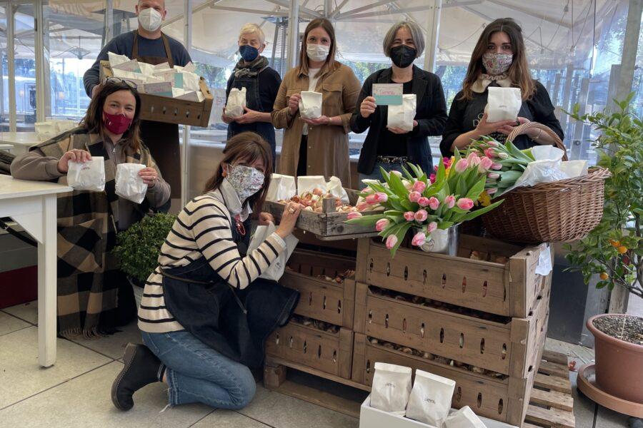#cinquemilafiori per la città di Rimini: Con Giardini d'Autore: Vincerà la Primavera, Vincerà la Bellezza!