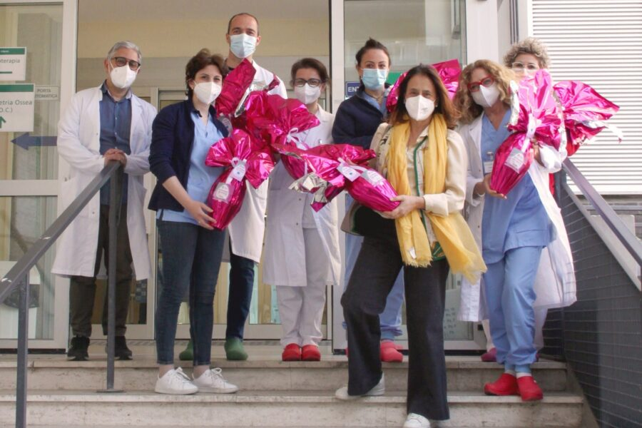 Gruppo Maggioli – Consegnate le uova di Pasqua ai bambini del reparto di oncoematologia pediatrica di Rimini