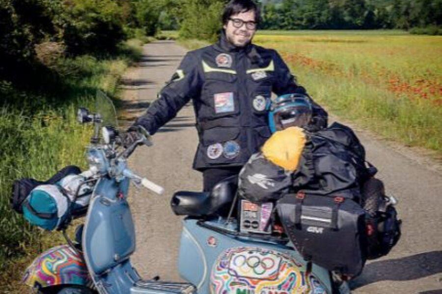 Fondazione Isal sarà insieme a Fabio Cofferati il vespista che parte alla volta di TOKYO