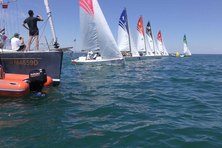 Yacht Club Rimini   Si sono disputate questo week a Rimini le regate del Campionato Italiano della Lega Italiana Vela