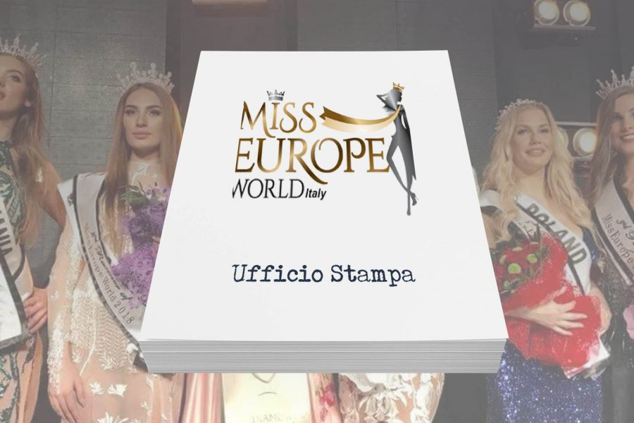 Miss Europe World Italy – Ufficio Stampa