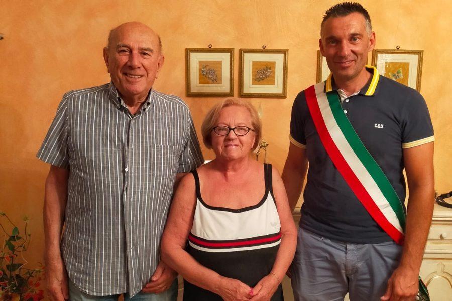 Il Comune di San Leo ha festeggiato l'anniversario del trasferimento da Parma dei coniugi Righi
