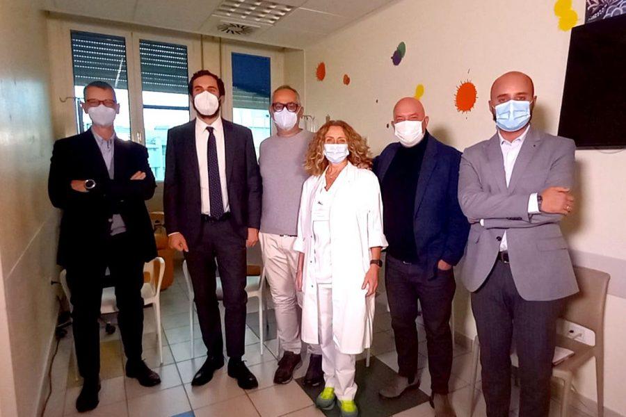 Amadori e Arop insieme per i piccoli pazienti dell'Ospedale Infermi di Rimini